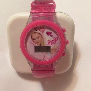 Jojo Siwa digital LCD flashing watch